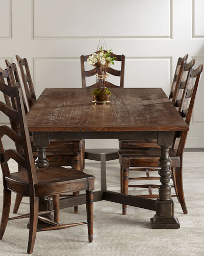 Layla Trestle Dining Table