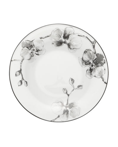 Black Orchid Tidbit Plate