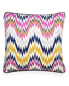 Lavender Worth Avenue Bargello Pillow