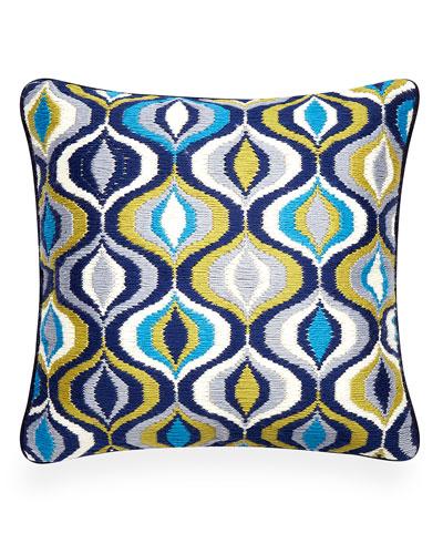 Waves Bargello Pillow