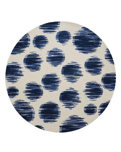 Kipling Dot Rug, 8' Round