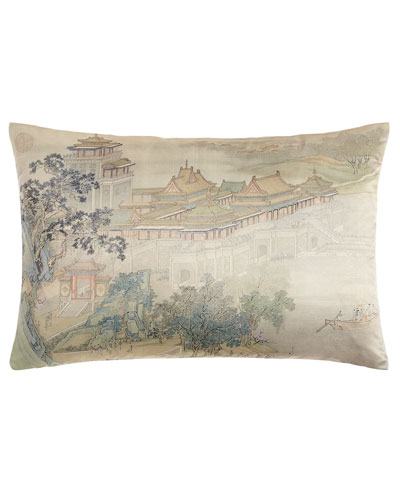 Along the Riverbank Pillow, 14