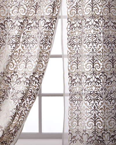 Abound Cotton Organdy Curtain, 96