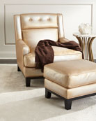 The Eleanor Rigby Leather Company Quinn Metallic Leather