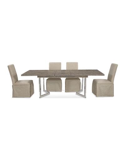 Bayless Nickel Base Dining Table