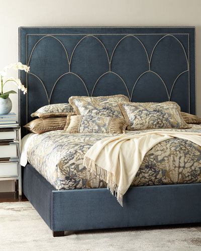 Regan Upholstered King Bed