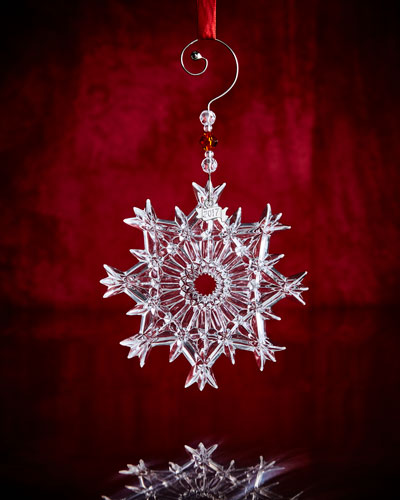 Annual Snow Crystal Ornament