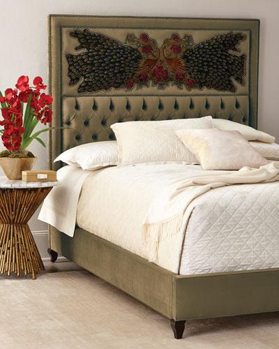 Peacock Sage Bed, California King