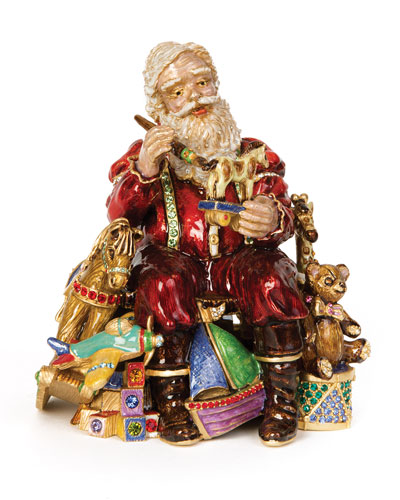 Santa's Musical Workshop Figurine