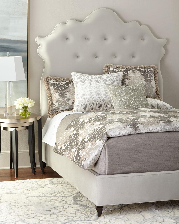 Arabella Tufted King Bed