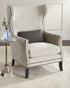Bernhardt Humphrey Wing Chair