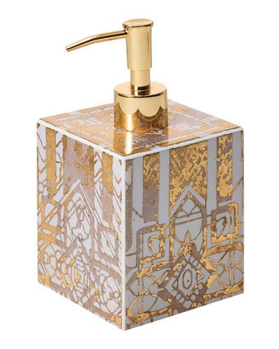 Gold bathroom accessories neiman marcus for Quartz bathroom accessories
