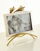 "Calla Lily Easel Picture Frame, 4"" x 6"""