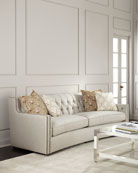 Karine Tufted-Back Sofa