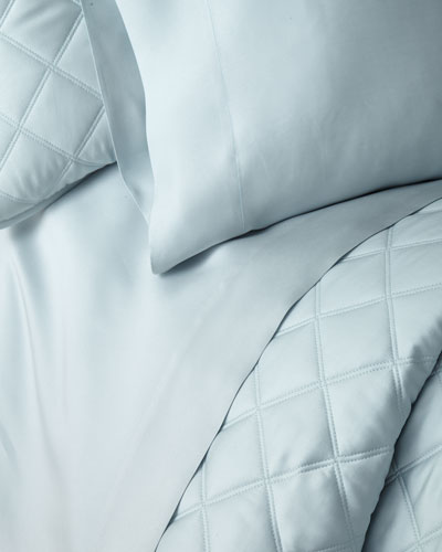 Silken Solid King Sheet Set