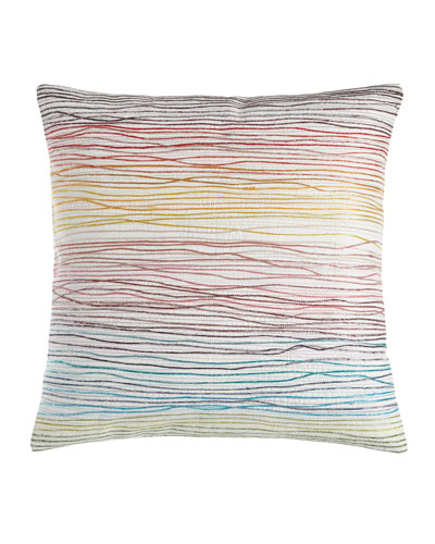 Aquarelle Embroidered Pillow