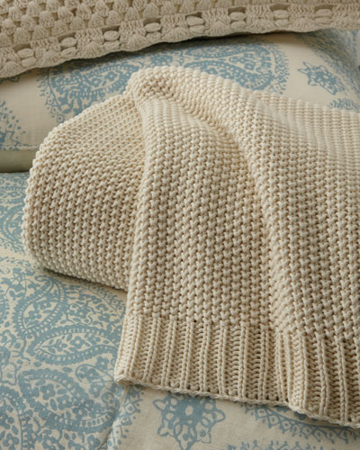 Full/Queen Remy Knit Blanket