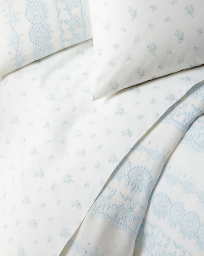 Petite Bouquet California King Fitted Sheet