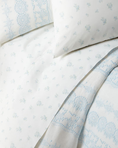 Petite Bouquet King Fitted Sheet