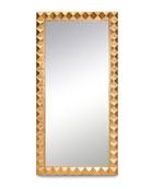 Ilsa Gold Leaning Mirror