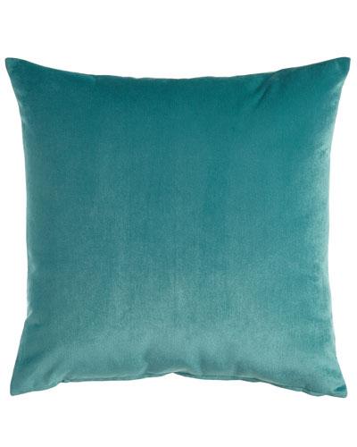 Nellis Caribbean (Teal) Pillow