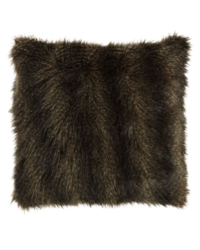 Mogli Minx Faux-Fur Pillow, 24