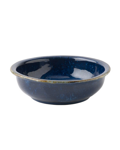 Puro Dappled Cobalt Coupe Bowl