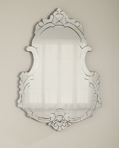 Pear-Shaped Venetian Mirror