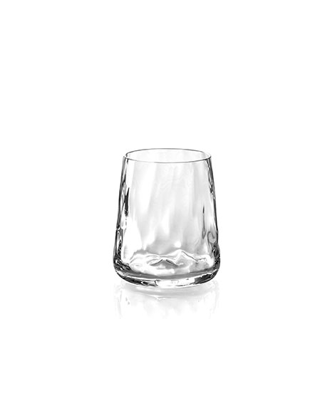 Michael Aram Ripple Effect Double Old-Fashioneds, Set of 4