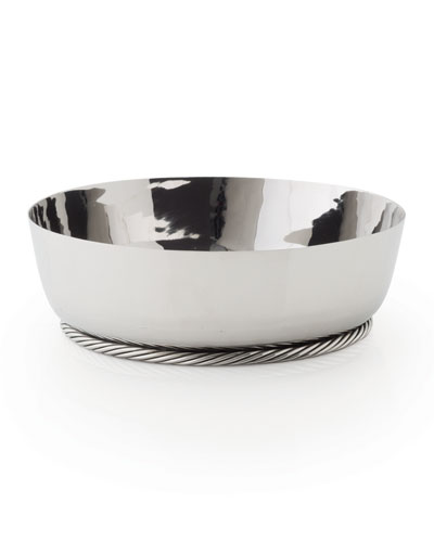 Twist Low Serving Bowl