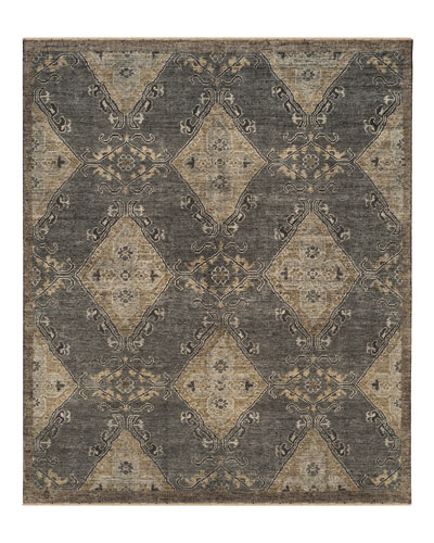 Idalee Hand-Knotted Rug, 9' x 12'