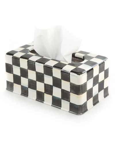 Courtly Check Long Tissue Box