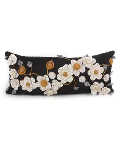 Gardenia Lumbar Pillow