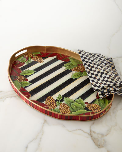 Highland Holiday Hostess Tray