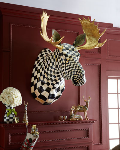 Courtly Check Moose Head