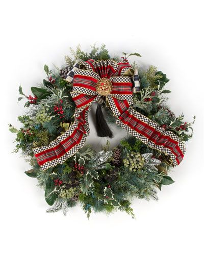 MacKenzie - Childs Highland Large Wreath