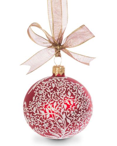 Filigree Artisan Ornament
