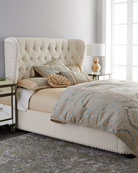 Monterey King Tufted Bed