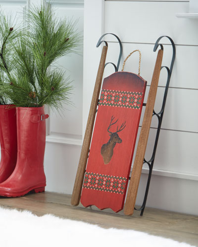 WALL HANGING SLED