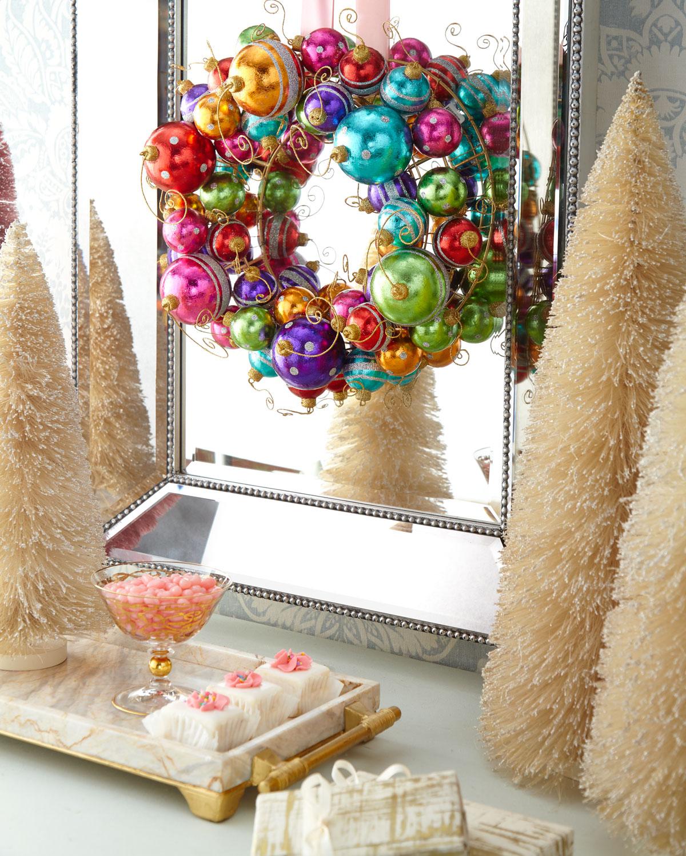 Holiday Ball Wreath
