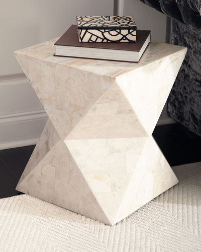 Jules Stone Side Table