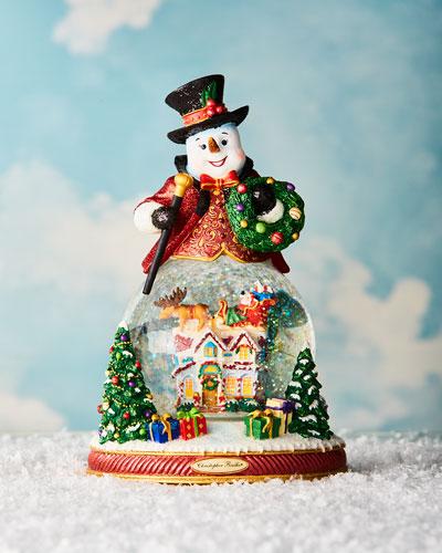 Resting on His Laurels Snow Globe