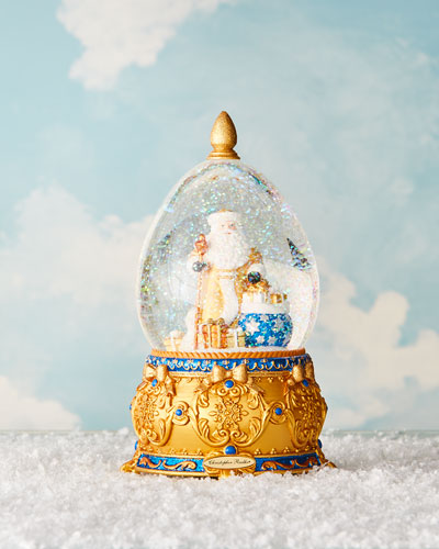 Father Frost Christmas Snow Globe