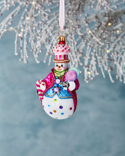 Couldn't Be Sweeter Snowman Christmas Ornament