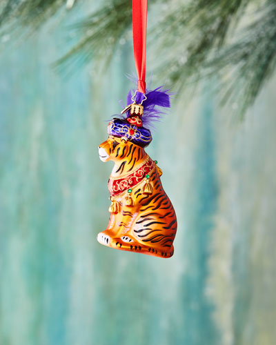 Beguiling Tiger Ornament