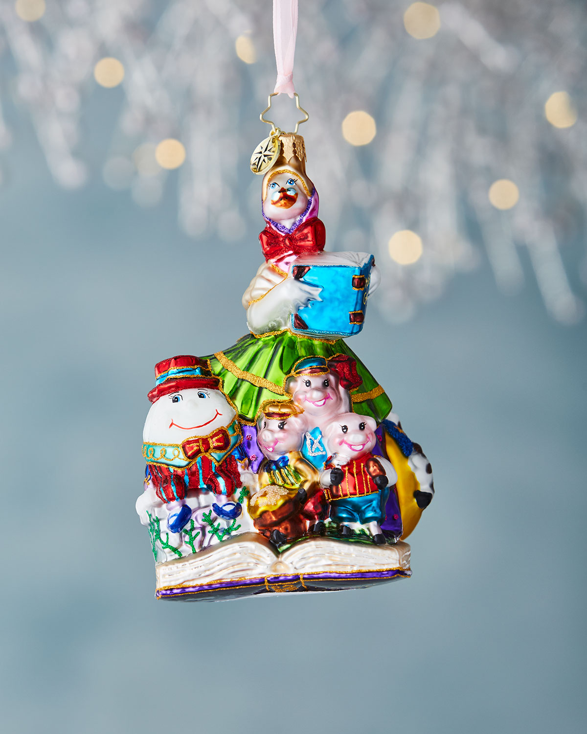 Mother Goose Christmas Ornament