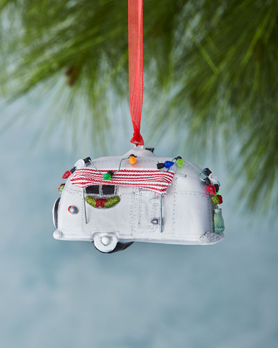 Cody Foster & Co Holiday Trailer Christmas Ornament