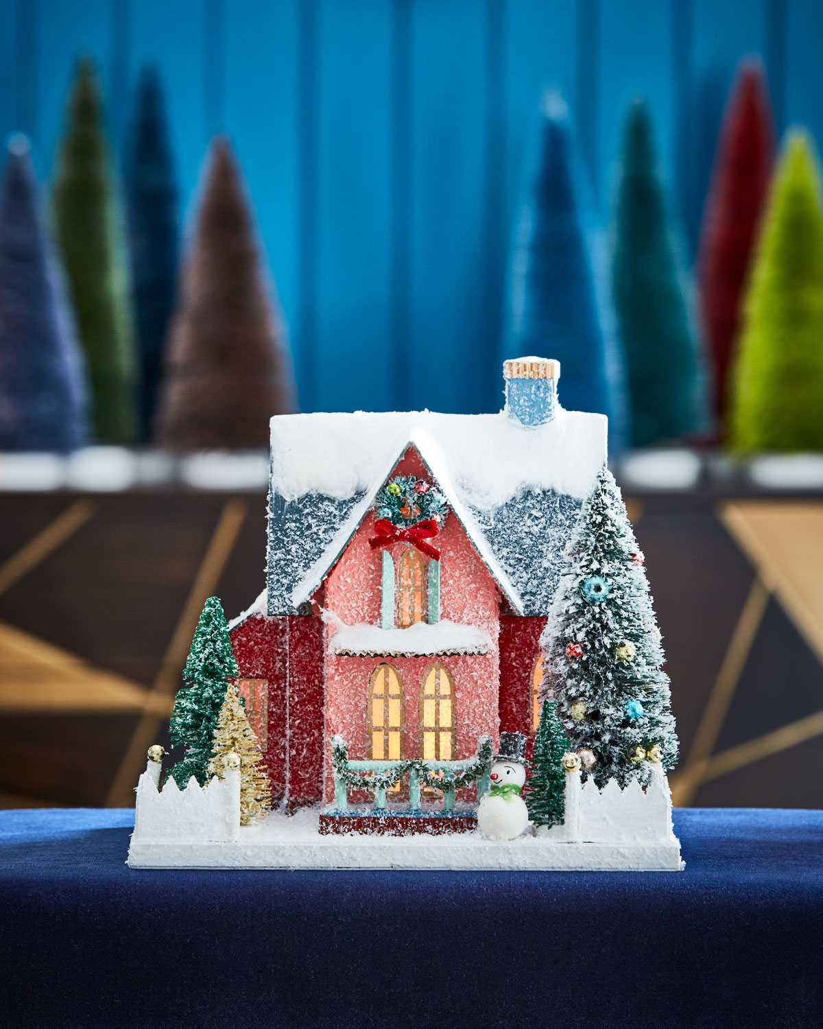 Holiday Finery House Collectible