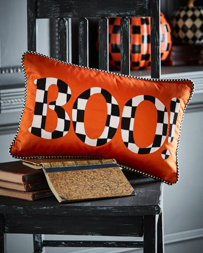 boo! pillow