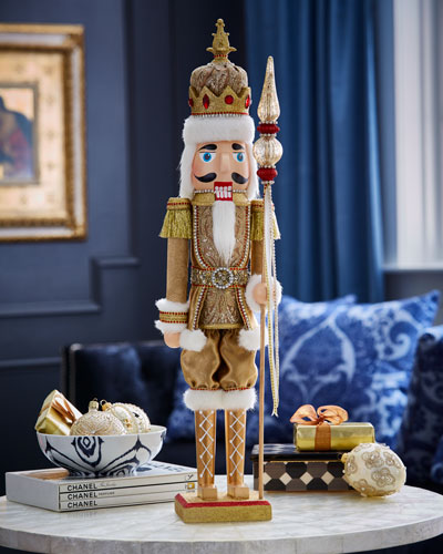 Gold & Glitter Collection Nutcracker, 24